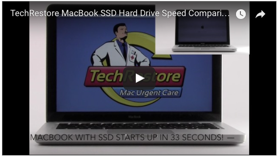 MacBook SSD Solid State Drive Upgrade