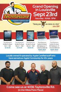 TechRestore Grand Opening Event in Louisville!, TechRestore
